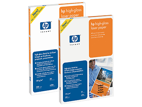 HP High-gloss Laser Paper