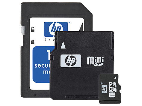 HP Digital Camera Memory