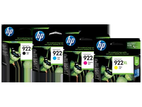 Cartuchos de tinta HP 922