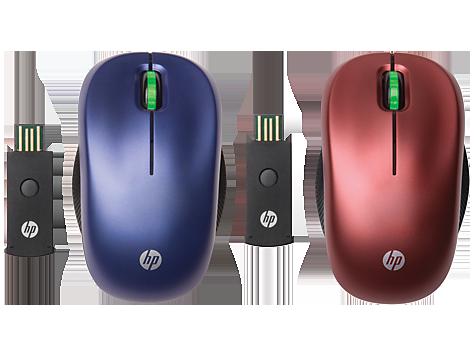 Ratón HP inalámbrico óptico