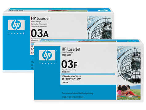 HP 03 LaserJet Toner Cartridges