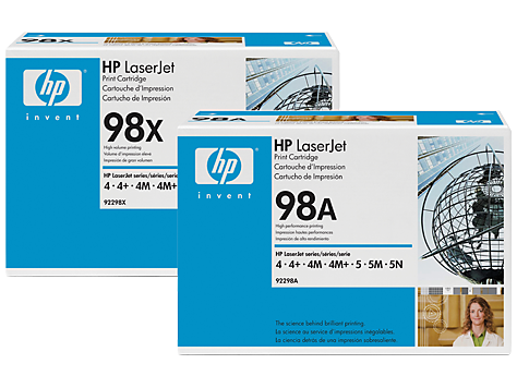 HP 98 LaserJet Toner Cartridges