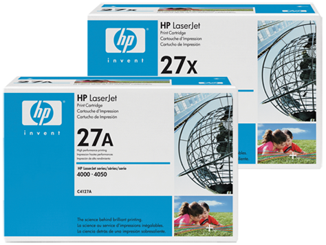 HP 27 LaserJet Toner Cartridges