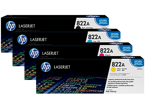 HP 822 LaserJet Printing Supplies