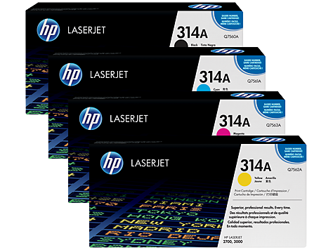 HP 314 LaserJet Printing Supplies