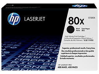 HP 80 Toner Cartridges