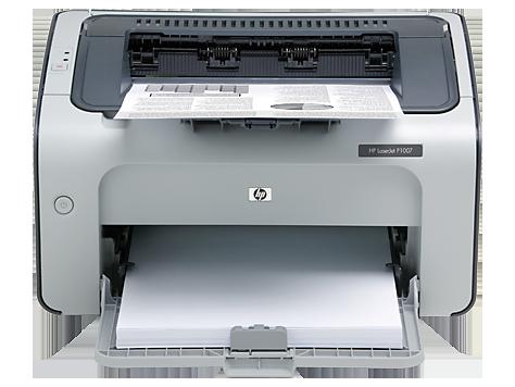 HP LaserJet P1007 프린터