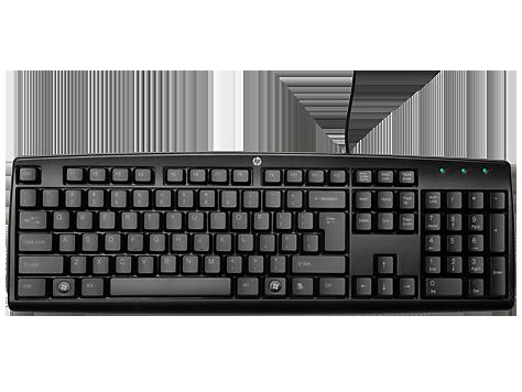 HP Tastatur mit Kabel