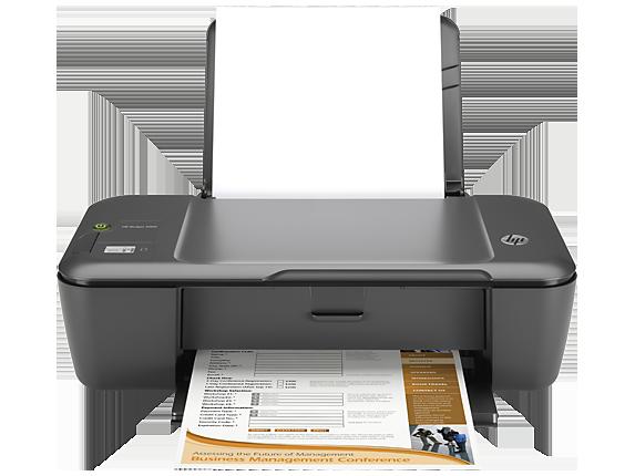 HP Deskjet 2000 Printer - J210b - Center