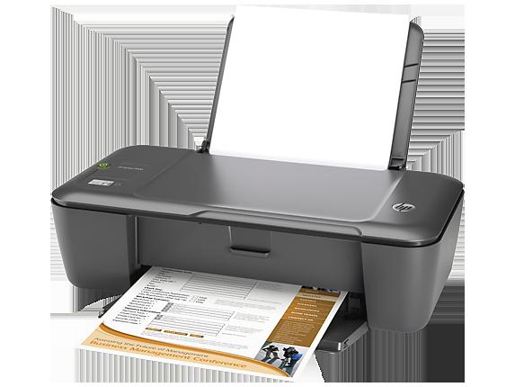 HP Deskjet 2000 Printer - J210b - Left