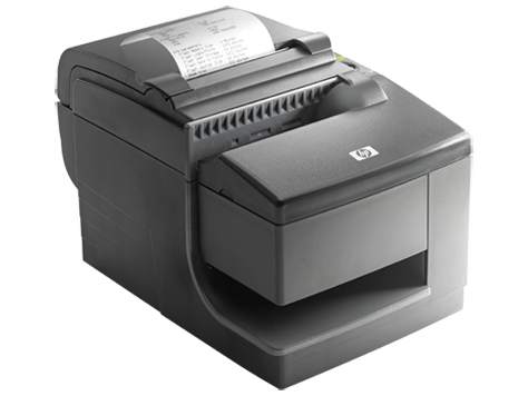 HP hybride thermische printer met MICR