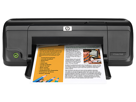 HP Deskjet D1668 Printer