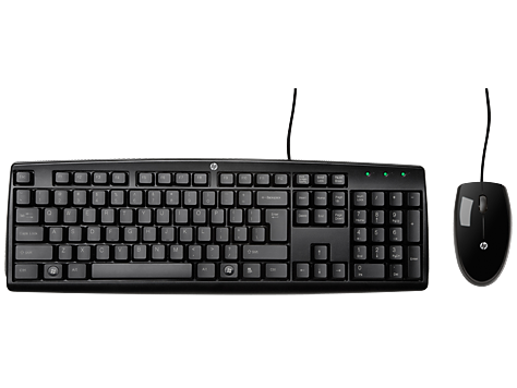 HP Wired Keyboard plus Mouse
