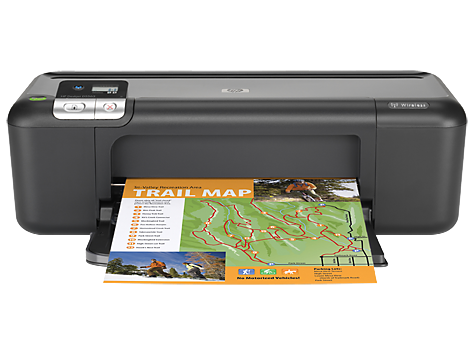 HP Deskjet D5563 Printer