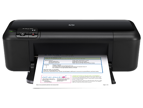 HP Officejet 4000 Printer series - K210