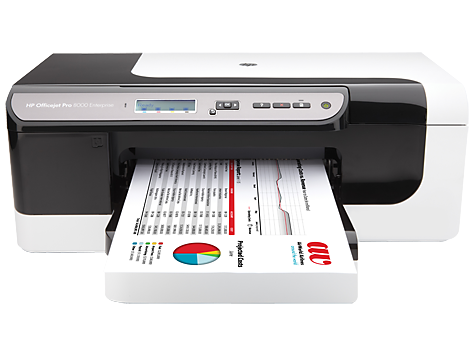 HP Officejet Pro 8000 Enterprise -tulostinsarja – A811