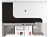HP Officejet Pro 8000 Enterprise Printer - A811a - Top view closed