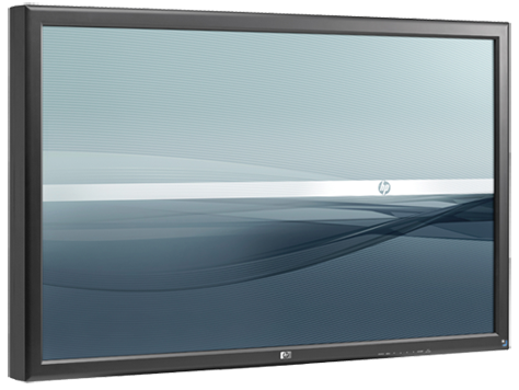 HP LD4700 47-tommers widescreen-LCD-skjerm for digitalt oppslag