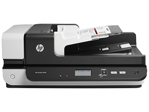 Escáner plano HP Scanjet Enterprise 7500