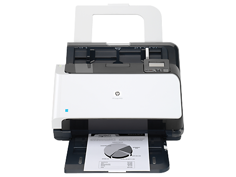 Scanner avec bac d'alimentation HP Scanjet Enterprise 9000