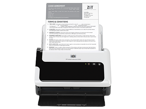 Scanner avec bac d'alimentation HP Scanjet Professional 3000