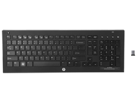 HP Wireless Elite v2-Tastatur