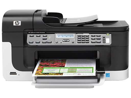 HP Officejet 6500 Wireless All-in-One Printer - E709n
