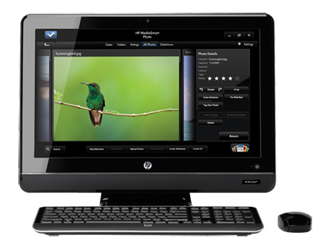 PC de sobremesa HP All-in-One serie 200-5100