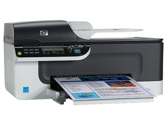 HP Officejet J4580 All-in-One Printer - Right