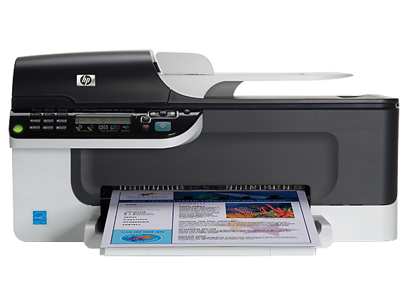 HP Officejet J4580 All-in-One Printer - Center