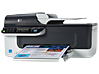 HP Officejet J4580 All-in-One Printer - Left