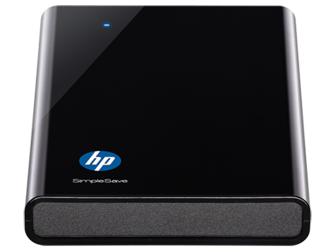 HP pd500a Portable Hard Drive
