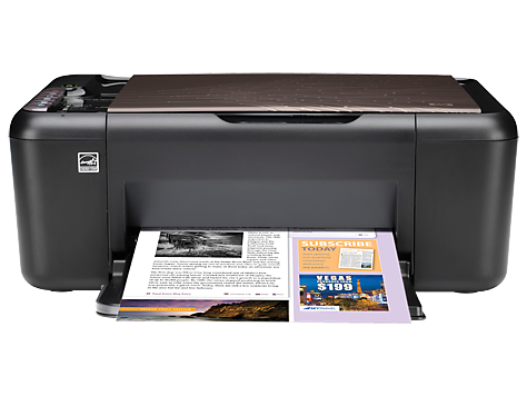 HP Deskjet Ink Advantage alles-in-één printerserie - K209