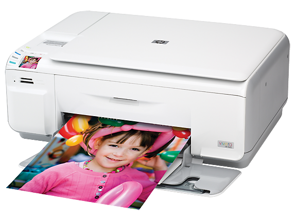 HP Photosmart C4435 All-in-One Printer - Left