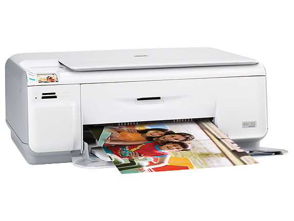 HP Photosmart C4435 All-in-One Printer - Right