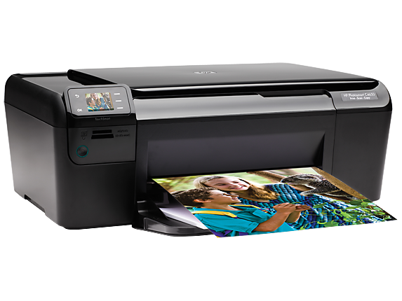 HP Photosmart C4650 All-in-One Printer - Right