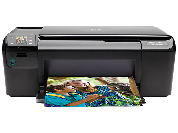 HP Photosmart C4650 All-in-One Printer - Center