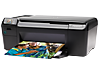 HP Photosmart C4650 All-in-One Printer - Left