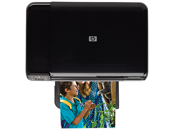HP Photosmart C4650 All-in-One Printer - Top view closed