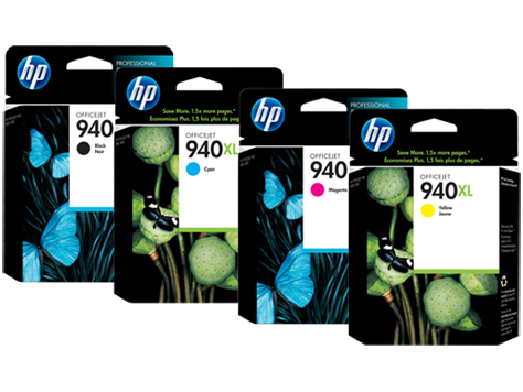 HP 940 Ink Cartridges