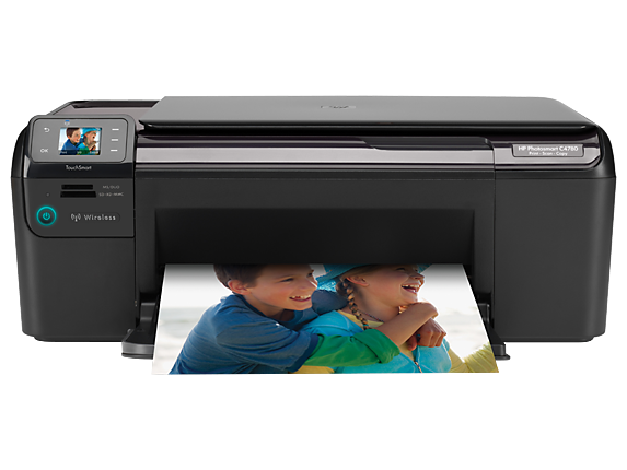 HP Photosmart C4780 All-in-One Printer - Center