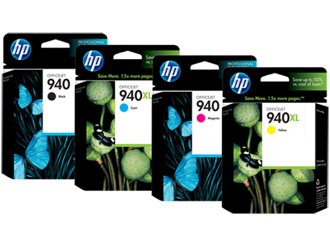 HP 940 inktcartridges