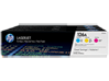 HP 126A 3-pack Cyan/Magenta/Yellow Original LaserJet Toner Cartridges, CF341A