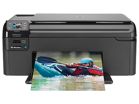 HP Photosmart Drahtloser All-in-One-Drucker - B109n