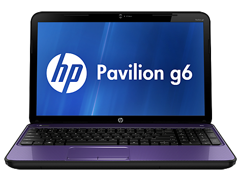 PC notebook HP Pavilion série g6-2100
