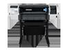 HP Designjet T790 24-in PostScript ePrinter with Encrypted Hard Disk - Rear