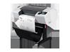 HP Designjet T790 24-in PostScript ePrinter with Encrypted Hard Disk - Left