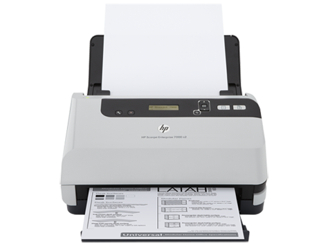 Scanner avec bac d'alimentation HP Scanjet Enterprise 7000 s2