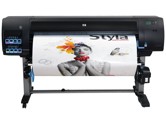 HP Designjet Z6200 60-in Photo Printer with Encrypted Hard Disk