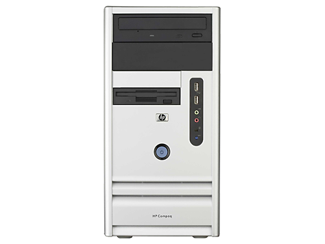 HP Compaq dx7380 Microtower-PC
